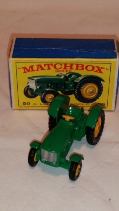 John Deere Matchbox Tractor : Models matchbox lesney series john deere