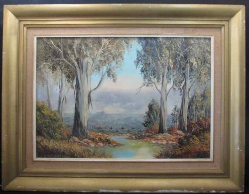 Paintings - Original Dirk Venter Framed Oil Painting Frame: 67cm ...