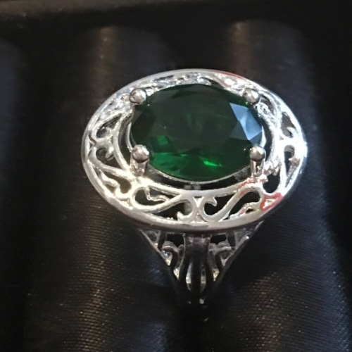 rings pretty cr topaz in 925 sterling silver ring