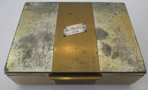 Westminster Tobacco Co Lower Collingwood Rd, Observatory, Cape Town Vintage Wood Lined Tobacco Box
