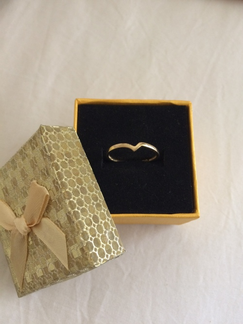 Gold & Diamond Wedding & Engagement Ring & Band Set - FREE GIFT B...