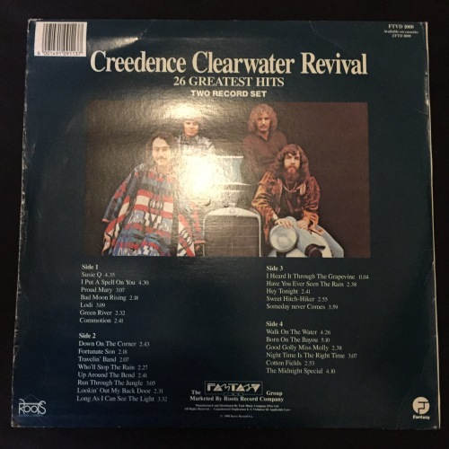 Classic Rock Creedence Clearwater Revival Ccr The