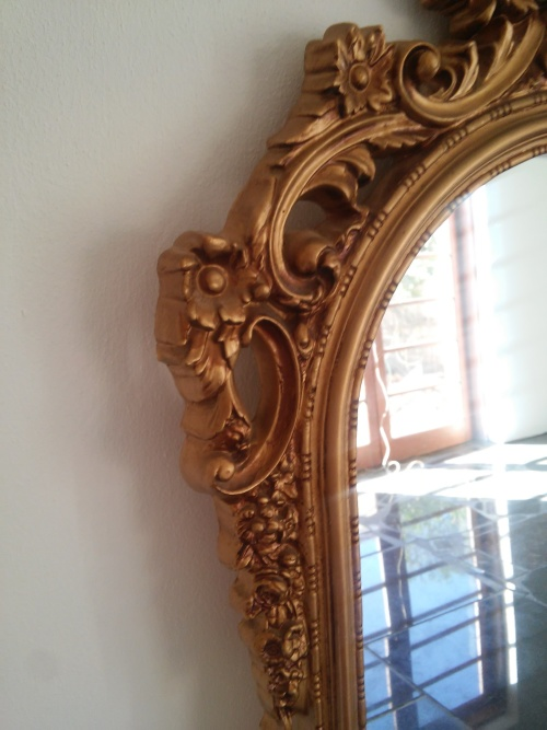 Frames mirrors long gold framed mirror was sold for for Long framed mirror