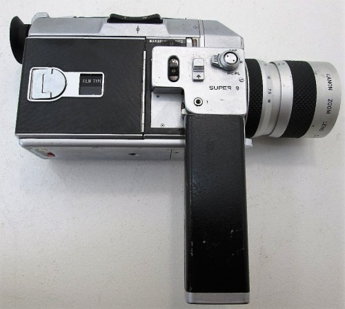 Vintage Canon C-8 Auto Zoom 814 8mm Movie Camera