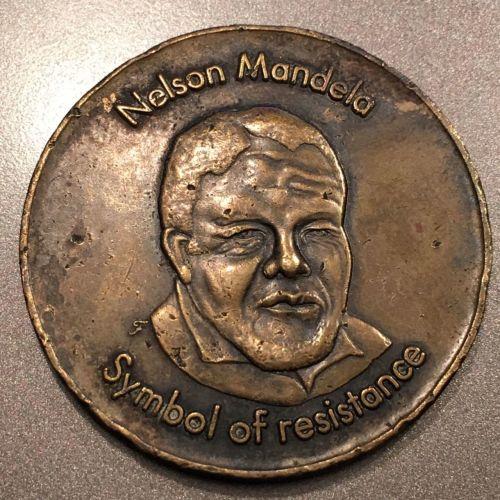 Mandela Nelson Mandela Medal Symbol Of Resistance The Struggle