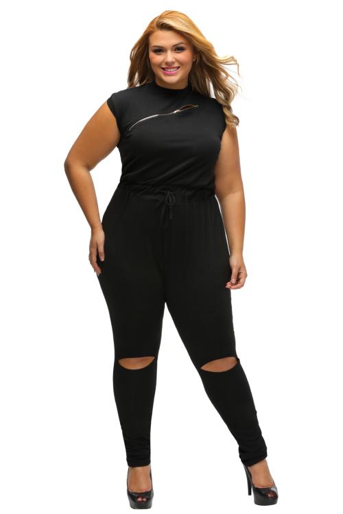 Trendy Plus Size Jumpsuits
