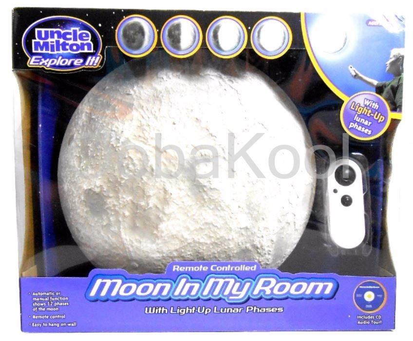Science & Nature - MOON IN MY ROOM / UNCLE MILTON