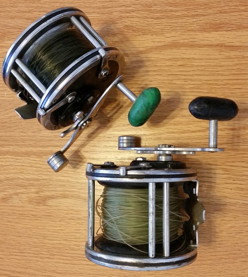 Reels two penn deep sea fishing reels super mariner and for Penn deep sea fishing reels