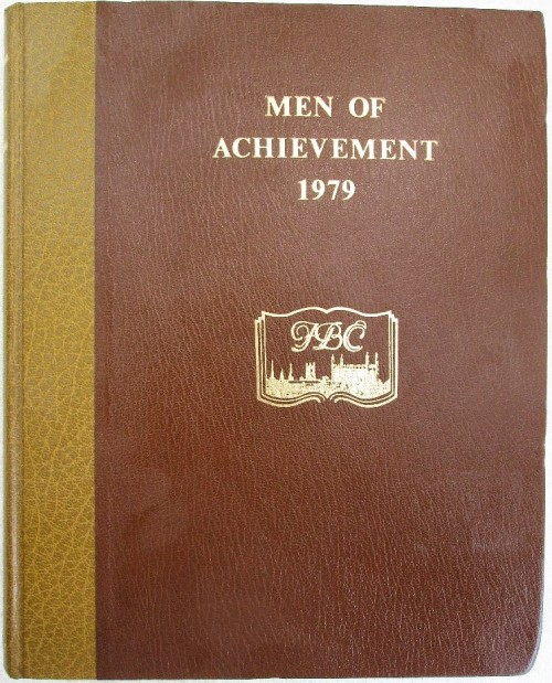 Men Of Achievement Volume Five 1978 - Ernest kay - International Biographical Centre