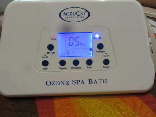 Ozone Spa Bath Manual OzoMed Ozone Spa Bath Mat for Healing Ozone