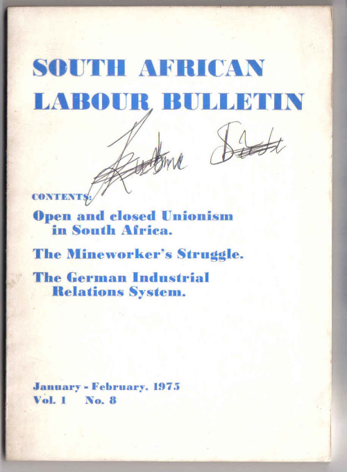 essays in southern african labour history