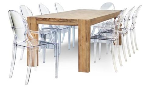 Coricraft Dining Table 6 Chairs