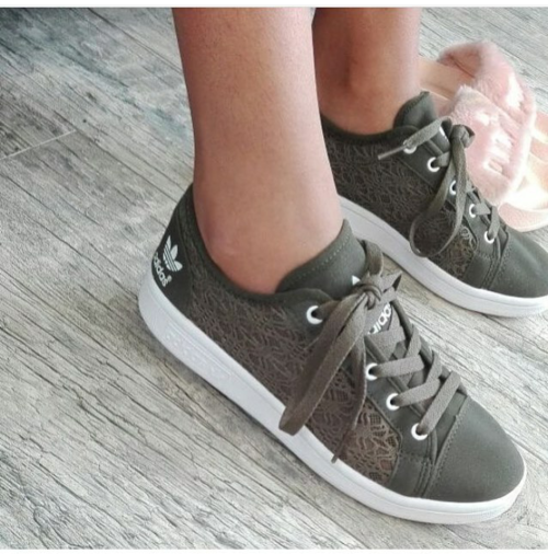 Sneakers Adidas Lace Ladies Sneakers Was Sold For R750