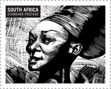 Brenda Fassie on stamp
