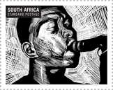 South African musicians on stamps