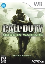 Nintendo Wii games call of duty