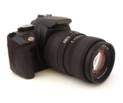 Digital SLR cameras are bulky