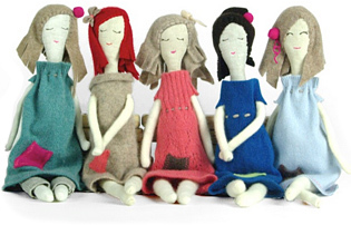 how to make rag dolls