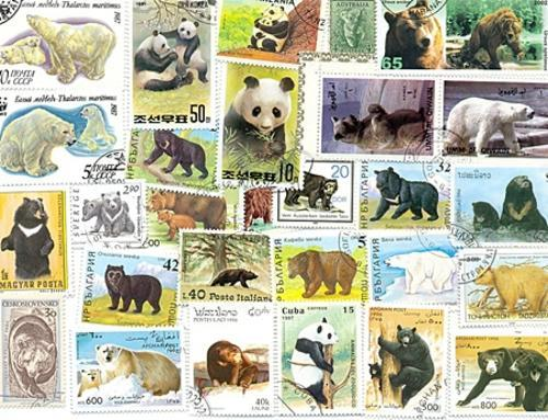 thematic stamp collections