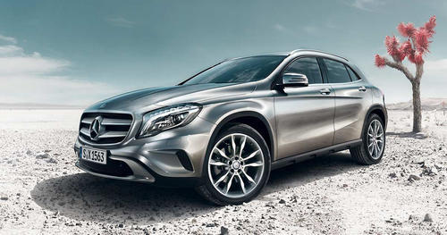 The GLA Mercedes Benz