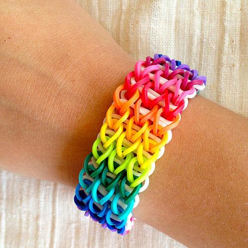 The Single Loom Band Bracelet Tutorial
