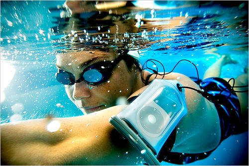Waterproof MP3 Players and Headphones