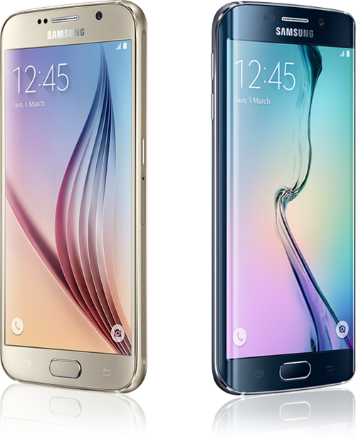 Samsung S6 and Samsung S6 Edge