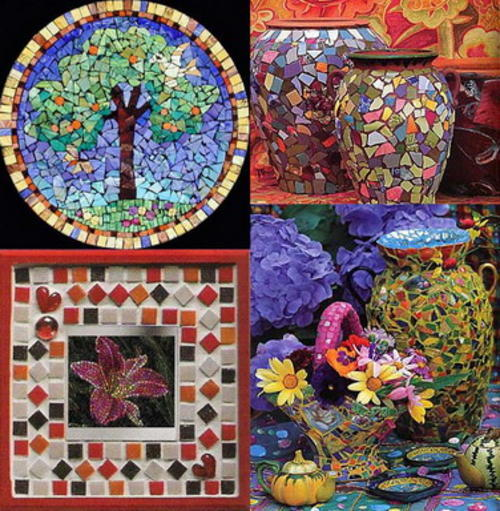 Mosaic crafts for beginners for Mosaic pieces for crafts