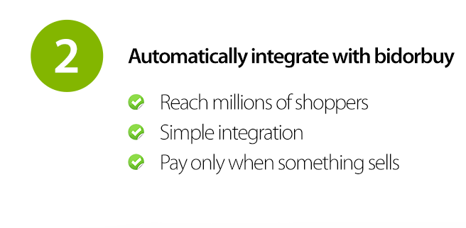 Automatically integrate with bidorbuy