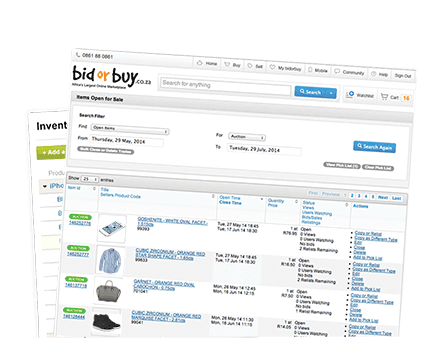 Manage inventory from one place