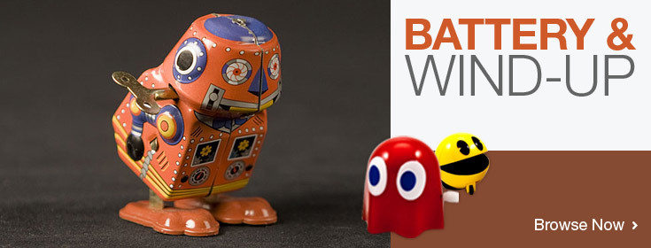 Battery & Wind-up