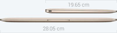 MacBook Dimensions