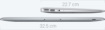 MacBook Air Dimensions