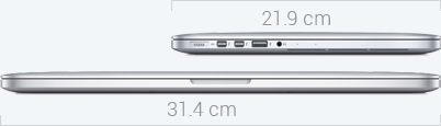 MacBook Pro Dimensions