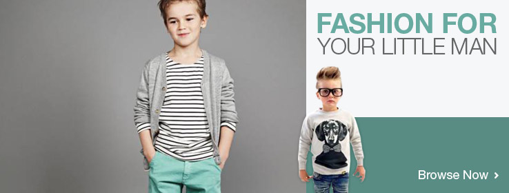 Boys' Fashion. Browse Now!