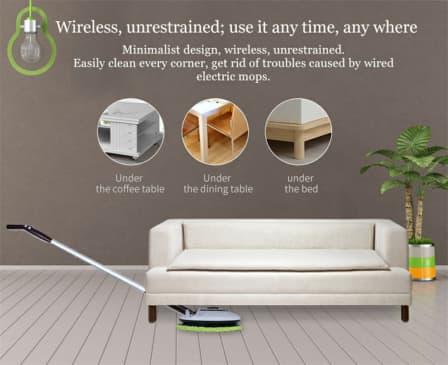Intelligent Wireless Electric Mop