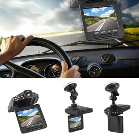 "NEW HD Portable DVR 2.5"" TFT LCD Screen Car Dashboard Video Recorder"