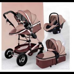 Strollers - Belecoo Luxury Multifunctional Baby Stroller 2 ...