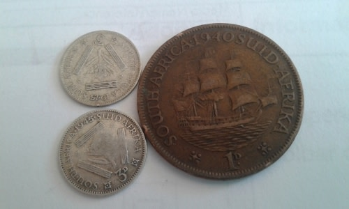 UNION VARIETIES 1943 SILVER TICKEYS ,OVERSTRUCK 1945 AND THE 1940 PENNY  DOTLESS AFTER THE DATE