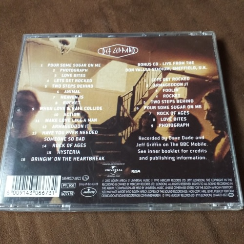 Deaf Leppard, Greatest hits double CD