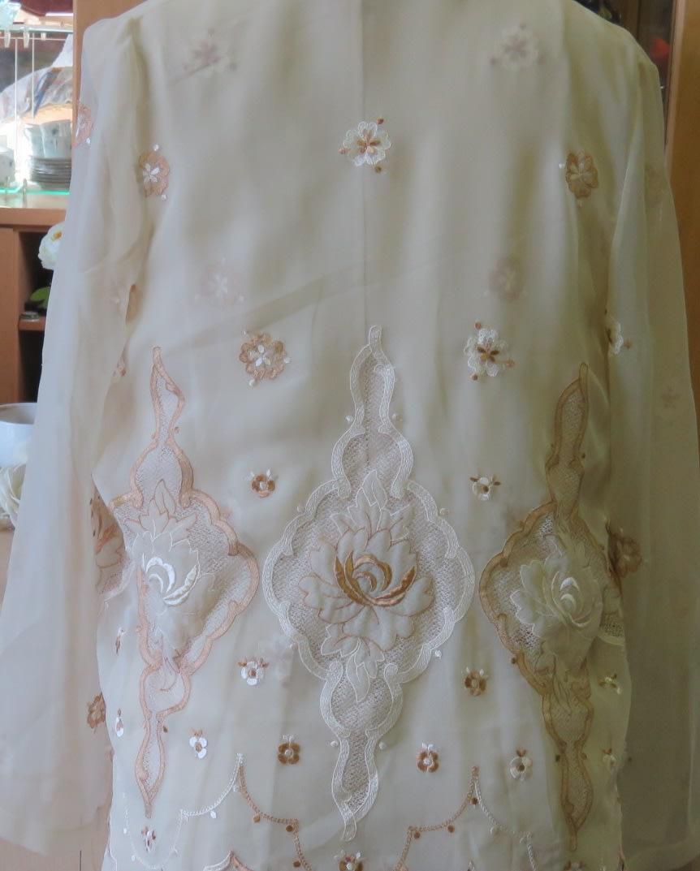 Beautiful Vintage Dress With Sheer Jacket