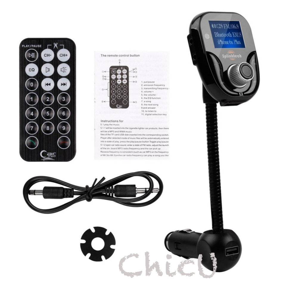 FM Transmitters - Stereo Bluetooth Handsfree Car Kit/ Car Charger