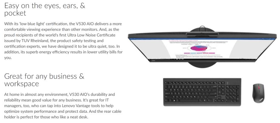 PC Desktops & All-in-Ones - *20K RETAIL*LATEST LENOVO V530,8TH GEN