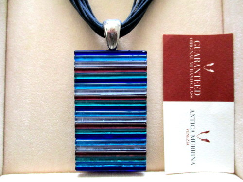 ANTICA MURRINA VENEZIA Exclusive Italian Glass Necklace - Valued @ R3,500  Selling @ R1,500