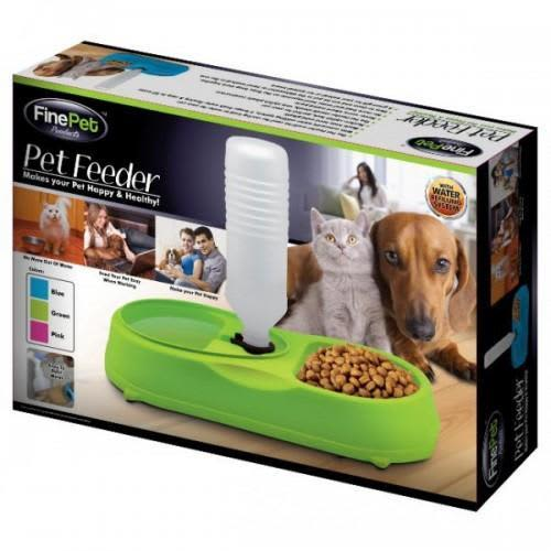 Other Pet Supplies - *** FINE PET - PET FEEDER - GREEN *** was sold for  R1.00 on 17 May at 22:01 by antiktoktoy in Durban (ID:283465063)
