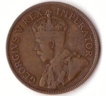 1953 south africa 1d coin value
