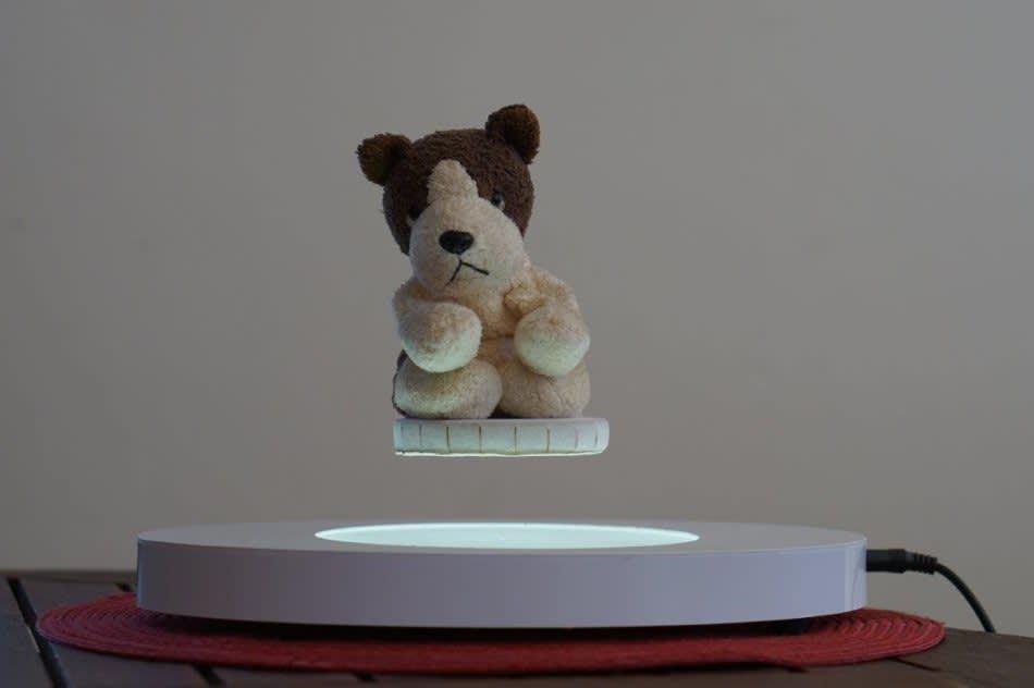 Magnetic Levitation Display 3 4cm Levitation Gap Supports Up To 500g Inbuilt Light