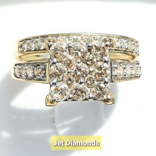 Diamond Rings For Sale Durban: Wedding Rings - **CLUSTER DESIGN