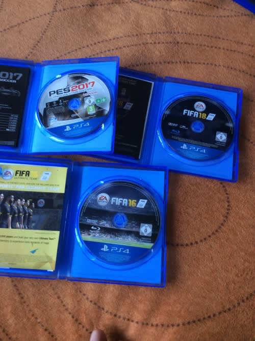 Games - Ps4 Football bundle pes2017 fifa 2016/17 was sold ...