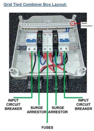 Other Electronics 2 String Solar Panels 600v Surge
